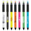 senator Duo Polished Plastic Multifunction Ballpen & Highlighter-PP-WE12-multicoloured