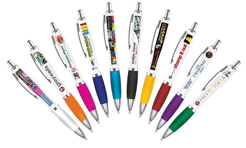 Promotional pens from Stupid Tuesday's Pen Store